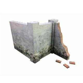 PEPATAMAシリーズ M-001 ペーパージオラマ 壁セットA モルタル煉瓦 【ネコポス配送対応】