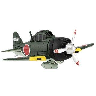 チビスケ戦闘機2 日本海軍機 [3.2-B.零式艦上戦闘機52型]【 ネコポス不可 】