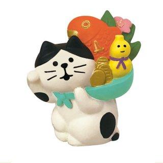 【縁起かつぎ招き猫 (ZCB-43943)】 DECOLE concombre デコレ コンコンブル FUKU 福 MONO 【 ネコポス不可 】【C】