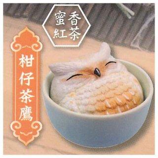 海外デザイナーシリーズ 幸せのふくろう茶 [1.柑仔茶鷹 蜜香紅茶]【 ネコポス不可 】【C】