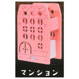木のランプシェード マイハウス [5.マンション]【 ネコポス不可 】【C】