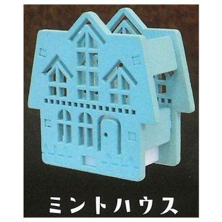 木のランプシェード マイハウス [6.ミントハウス]【 ネコポス不可 】【C】