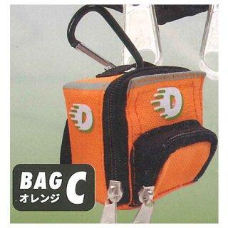 カラビナ付き!超ミニミニデリバリーバッグマスコット [3.BAG C オレンジ]【ネコポス配送対応】【C】