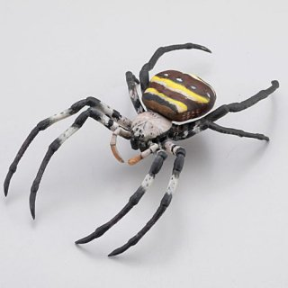 カプセルQミュージアム 日本の蜘蛛ストラップコレクション クモコレ! [1.コガネグモ]【ネコポス配送対応】【C】