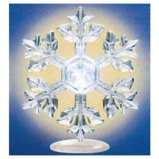 ネイチャーテクニカラー MONO PLUS 雪の結晶LEDライトコレクション [3.星形樹枝(台座)]【ネコポス配送対応】【C】