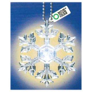 ネイチャーテクニカラー MONO PLUS 雪の結晶LEDライトコレクション [7.星形樹枝(ボールチェーン)]【ネコポス配送対応】【C】