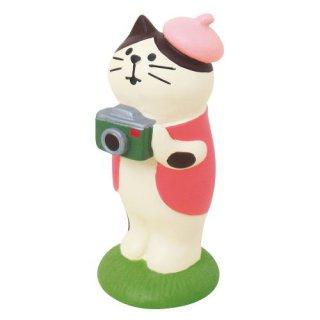 【お花見カメラマン猫 (ZSA-79011)】 DECOLE concombre デコレ コンコンブル 旅猫 日本縦断 桜めぐり旅 【 ネコポス不可 】【C】