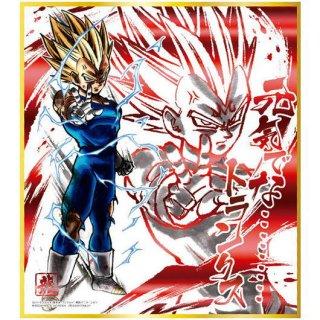 ドラゴンボール 色紙ART12 [7.魔人ベジータ(赤色箔押し)]【ネコポス配送対応】【C】
