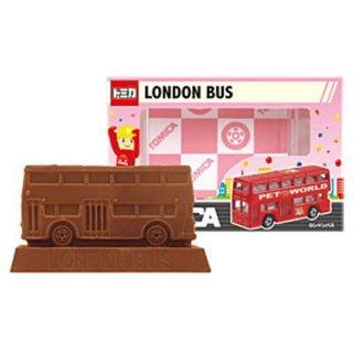 【単品】トミカ立体チョコ [6. ロンドンバス] 【賞味期限:2021年6月16日】 【 ネコポス不可 】
