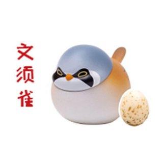 空想造物 ピヨピヨ小鳥ちゃんシリーズ 第2弾 世界の小鳥たち [7.ヒゲガラ]【 ネコポス不可 】