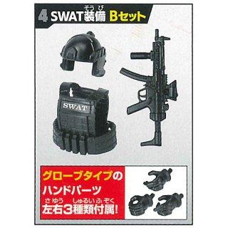 誰得?!俺得!!シリーズ カプセル素体 素ボディver.2&SWAT装備セット [4.SWAT装備 Bセット]【 ネコポス不可 】