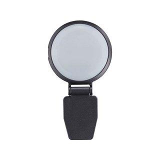 USBリモート会議ライト [1.顔を明るく照らすライト(黒)]【 ネコポス不可 】【C】