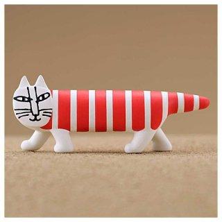 カプセルQミュージアム Mikey Lots of cats Collection Vol.2[1.ストライプレッド (Red stripes Cat)]【ネコポス配送対応】【C】