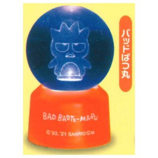 サンリオキャラクターズ 3Dクリアボールライト Part.2 [3.バッドばつ丸]【 ネコポス不可 】