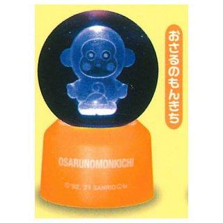 サンリオキャラクターズ 3Dクリアボールライト Part.2 [4.おさるのもんきち]【 ネコポス不可 】