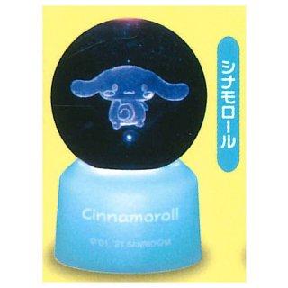 サンリオキャラクターズ 3Dクリアボールライト Part.2 [5.シナモロール]【 ネコポス不可 】