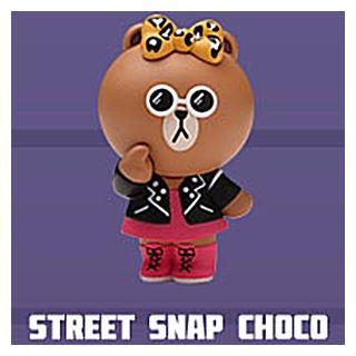 POPMART LINE FRIENDS ストリートシリーズ [9.STREET SNAP CHOCO]【 ネコポス不可 】[sale210206]