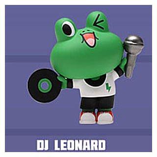 POPMART LINE FRIENDS ストリートシリーズ [10.DJ LEONARD]【 ネコポス不可 】[sale210206]