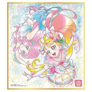 プリキュア 色紙ART4 [14.キュアサマー&ローラ(金色箔押し)]【ネコポス配送対応】【C】