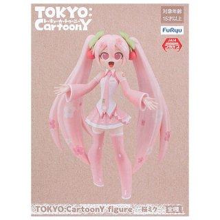 初音ミク TOKYO:CartoonY figure 桜ミク【 ネコポス不可 】
