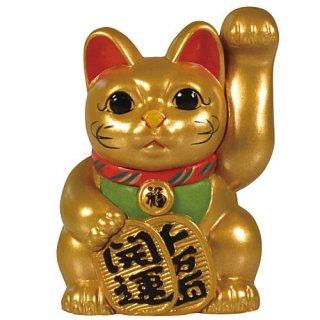 招き猫ミニチュアコレクション [6.レアカラー:常滑型招き猫 限定金色版]【ネコポス配送対応】【C】