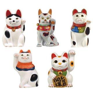 招き猫ミニチュアコレクション [ノーマル5種セット(※レアカラーは含みません)]【ネコポス配送対応】【C】