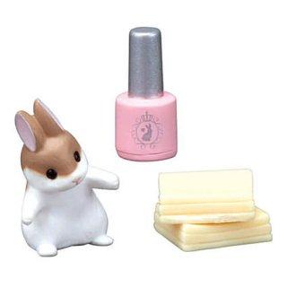 お化粧うさぎ ミント Mint [7.ピンクネイルとコットン]【ネコポス配送対応】【C】
