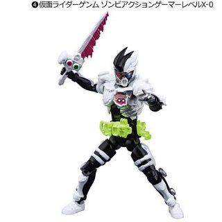 SHODO-O 仮面ライダー5 [4.仮面ライダーゲンム ゾンビアクションゲーマーレベルX-0]【 ネコポス不可 】【C】