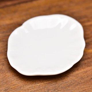 ミニチュア雑貨 陶器 Lサイズ [MMPP5] (セラミックプレート/カラー:ホワイト) 1/12スケール [m-s][imp]【ネコポス配送対応】【C】