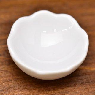 ミニチュア雑貨 陶器 Lサイズ [MMPP33] (セラミックボウル/カラー:ホワイト) 1/12スケール [m-s][imp]【ネコポス配送対応】【C】
