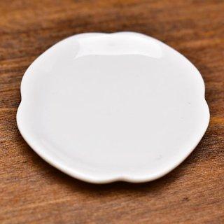 ミニチュア雑貨 陶器 Lサイズ [MMPP34] (セラミックプレート/カラー:ホワイト) 1/12スケール [m-s][imp]【ネコポス配送対応】【C】