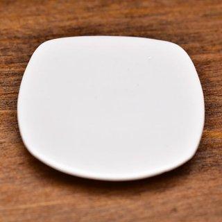 ミニチュア雑貨 陶器 Lサイズ [MMPP36] (セラミックプレート/カラー:ホワイト) 1/12スケール [m-s][imp]【ネコポス配送対応】【C】