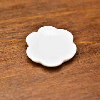 ミニチュア雑貨 陶器 Sサイズ [SPLP3] (セラミックプレート:カラーホワイト) 1/12スケール [m-s][imp]【ネコポス配送対応】【C】