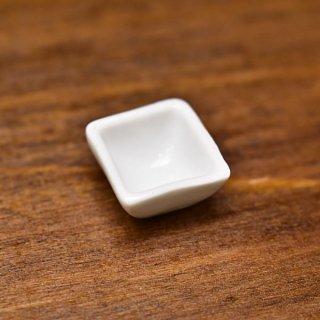 ミニチュア雑貨 陶器 Sサイズ [SPLP15] (セラミックボウル/カラー:ホワイト) 1/12スケール [m-s][imp]【ネコポス配送対応】【C】
