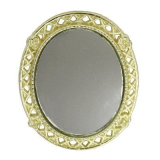 ミニチュア雑貨 壁掛け鏡 [B(M-06)] [m-s]【ネコポス配送対応】【C】