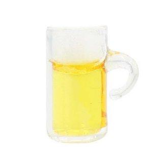 ミニチュアフード ビール入りビアジョッキ [B(P-93)] [m-s]【ネコポス配送対応】【C】
