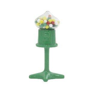 ミニチュア雑貨 緑のガムボールマシーン [B(T-35)] [m-s]【ネコポス配送対応】【C】