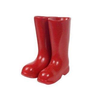 ミニチュア雑貨 長靴 (赤) [B(T-41)] [m-s]【ネコポス配送対応】【C】