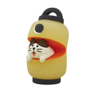 【おばけ提灯猫 (ZCB-79184)】 DECOLE concombre デコレ コンコンブル おばけ茶屋 【 ネコポス不可 】【C】