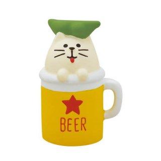 【おばけ猫ビール (ZCB-79189)】 DECOLE concombre デコレ コンコンブル おばけ茶屋 【 ネコポス不可 】【C】