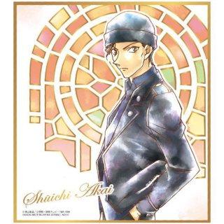 名探偵コナン色紙ART6 [15.赤井秀一[金色箔押し]]【ネコポス配送対応】【C】
