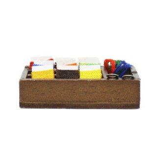 ミニチュア雑貨 木箱糸セット [B(B-82)] [m-s] 【ネコポス配送対応】【C】