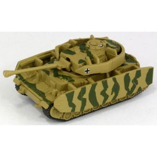 ホビーガチャ 陸上模型 戦車コレクション 総編 [1.ドイツ IV号戦車 H型(2色迷彩)]【ネコポス配送対応】【C】