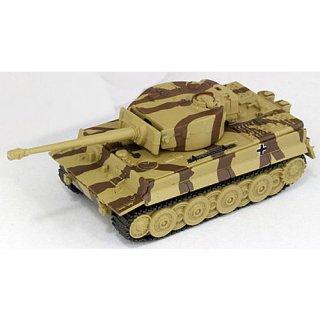 ホビーガチャ 陸上模型 戦車コレクション 総編 [2.ドイツ重戦車 TIGER I(ライン迷彩)]【ネコポス配送対応】【C】