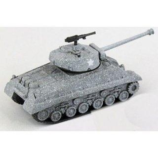 ホビーガチャ 陸上模型 戦車コレクション 総編 [5.アメリカ中戦車 M4 SHERMAN(冬用迷彩)]【ネコポス配送対応】【C】