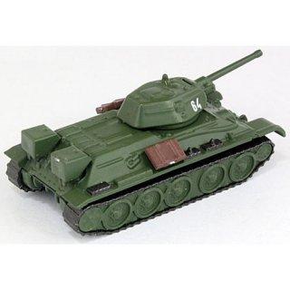 ホビーガチャ 陸上模型 戦車コレクション 総編 [6.ソビエト T-34/76(単色迷彩)]【ネコポス配送対応】【C】
