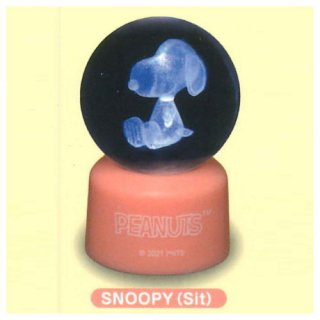 スヌーピー クリアボールライト Part.2 [2.SNOOPY(Sit)]【 ネコポス不可 】