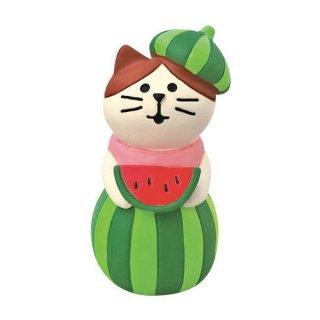 【スイカの妖精猫 (ZSV-79221)】 DECOLE concombre デコレ コンコンブル スイカ天国 【 ネコポス不可 】【C】