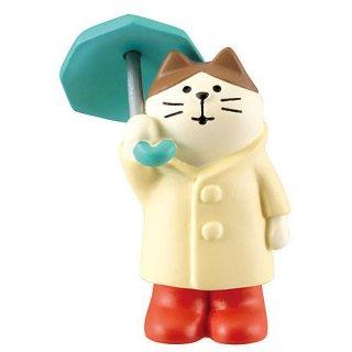 【雨降り猫 (ZSV-17611)】 DECOLE concombre デコレ コンコンブル 梅雨飾り 【 ネコポス不可 】【C】