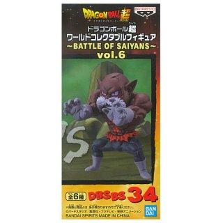 ドラゴンボール超 ワールドコレクタブルフィギュア BATTLE OF SAIYANS vol.6 [DBSBS34:トッポ(破壊神モード)]【 ネコポス不可 】